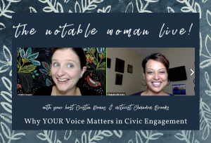 Why Your Voice Matters in Civic Engagement with Chandra Brooks