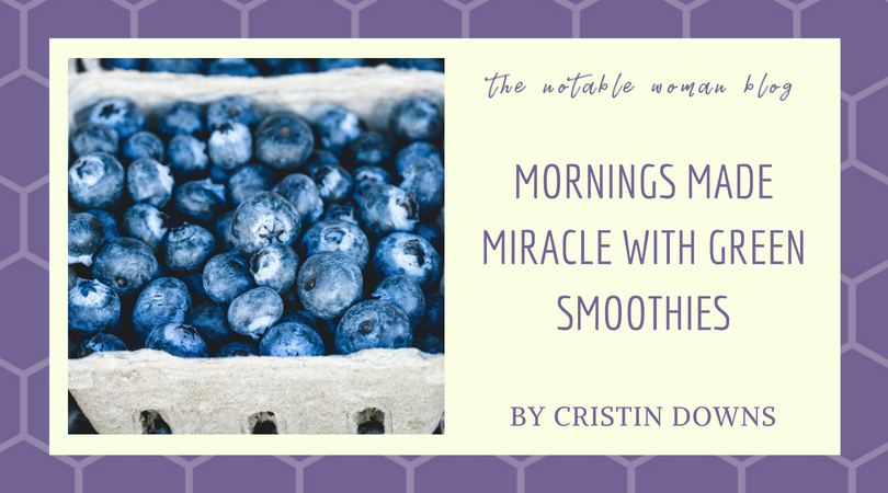 Smoothies make mornings miracle (1)