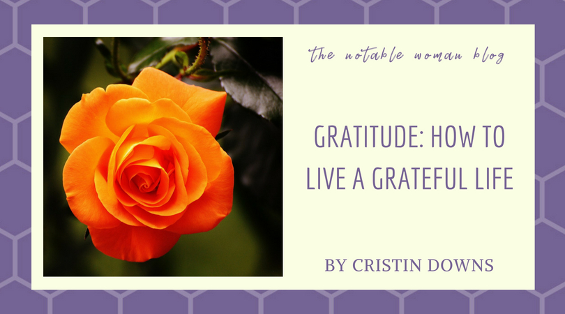 gratitude, how to live a grateful life