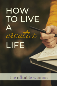 How to Live a Creative Life with Tia Shearer Bassett on Episode 1 of The Notable Woman Podcast.