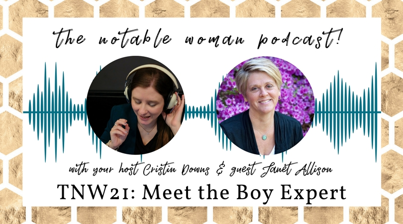 TNW21: Meet the Boy Expert with Janet Allison