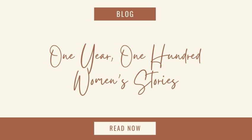 One Year, One Hundred Women's Stories
