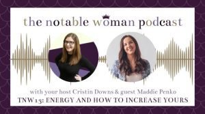 TNW13: Energy and How You Can Increase Yours with Maddie Penko