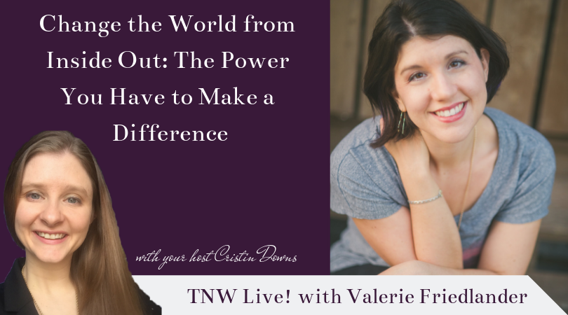 TNW Live! with Valerie Friedlander