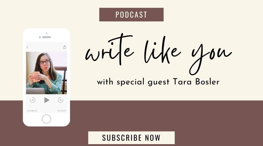 23. Write Like You with Copywriting Boss Tara Bosler