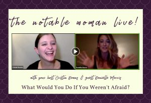 donielle morris on the notable woman live