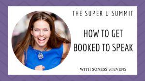 How to Get Booked to Speak