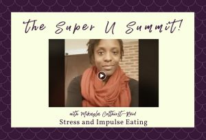 Stress and Impulse Eating with Mikayla Colthirst-Reid