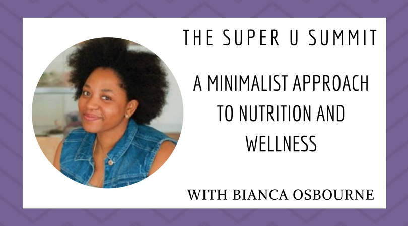 A Minimalist Approach to Nutrition and Wellness
