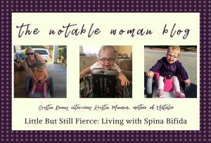 The Notable Woman Blog Header Living with Spina Bifida