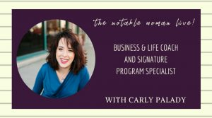 TNW Live! with Carly Palady