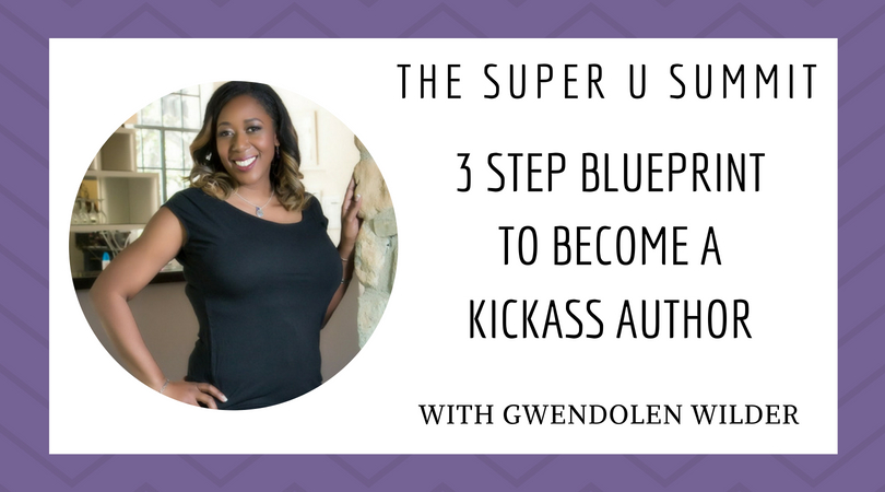 3 Step Blueprint to Become a Kickass Author