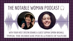 TNW28: the hurricane pod is a force of nature with Sophia Simon-Bashall