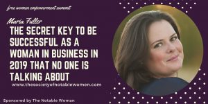 The Secret Key to be Successful as a Woman in Business
