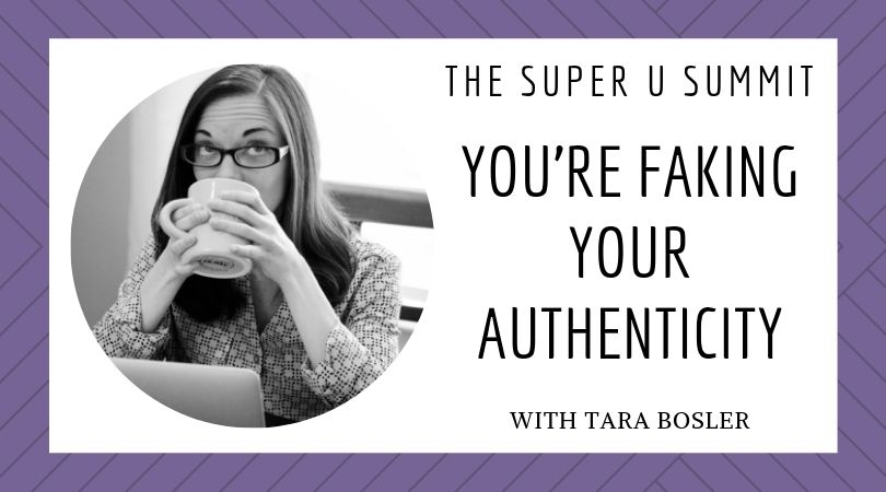 You're Faking Your Authenticity