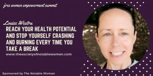 Louise Westra at The Notable Woman Super U Summit