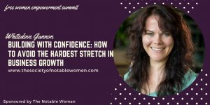 Building With Confidence: How to avoid the hardest stretch in business growth with Whitedove Gannon