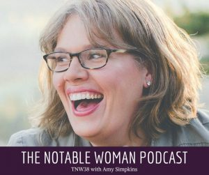COVID-19's Exponential Growth with Amy Simpkins on The Notable Woman Podcast