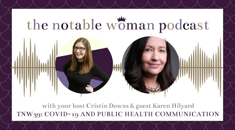 Public health communication with guest Karen Hilyard